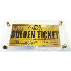 Willy Wonka And The Chocolate Factory Golden Ticket Replica - Radar Toys