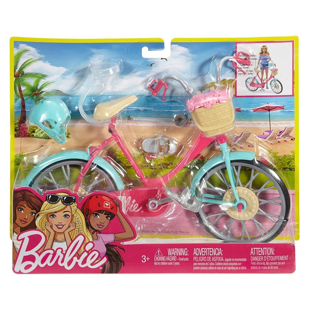Die Cast - Barbie Bike Set