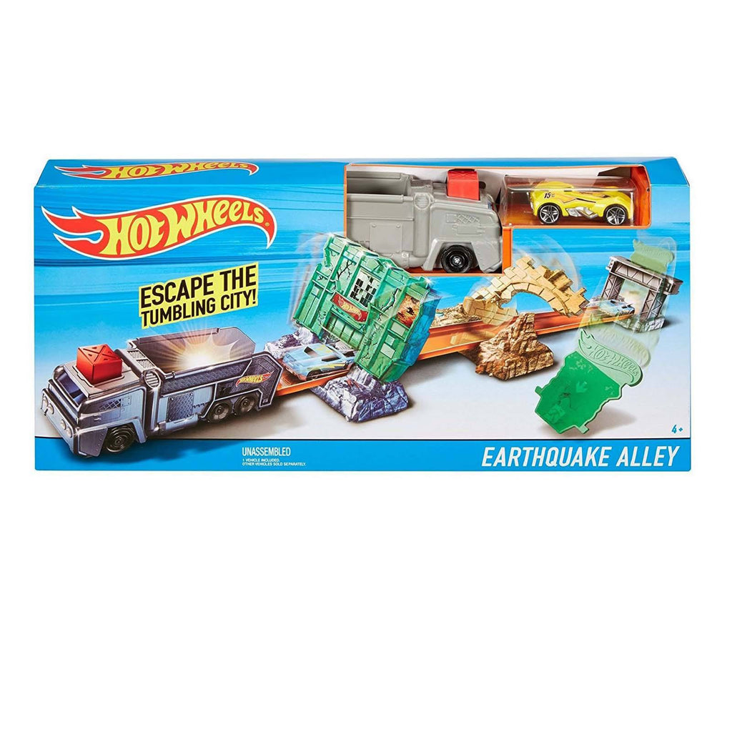 Die Cast - Hot Wheels Earthquake Alley Track Set