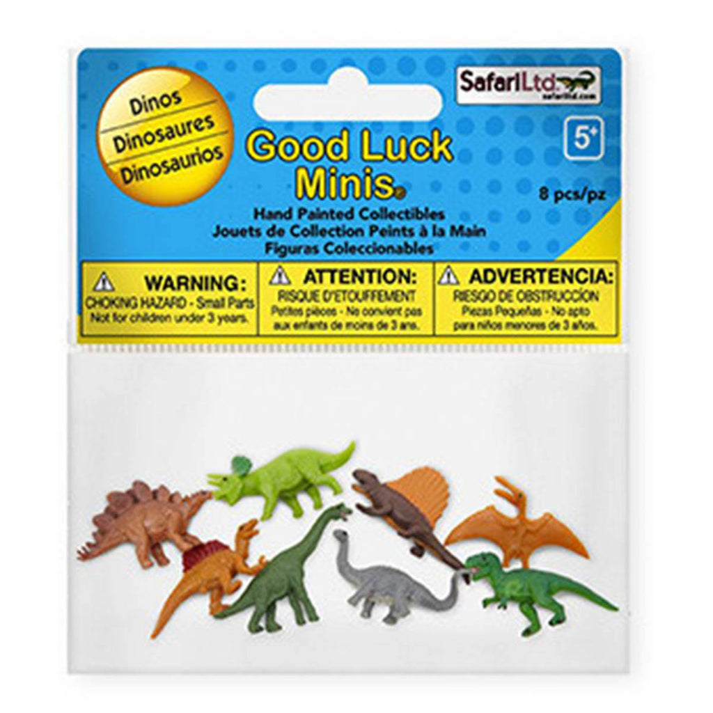 Dinosaur Fun Pack Mini Good Luck Figures Safari Ltd