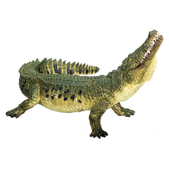 Dinosaur Figures - MOJO Crocodile With Hinged Jaw Animal Figure 387162