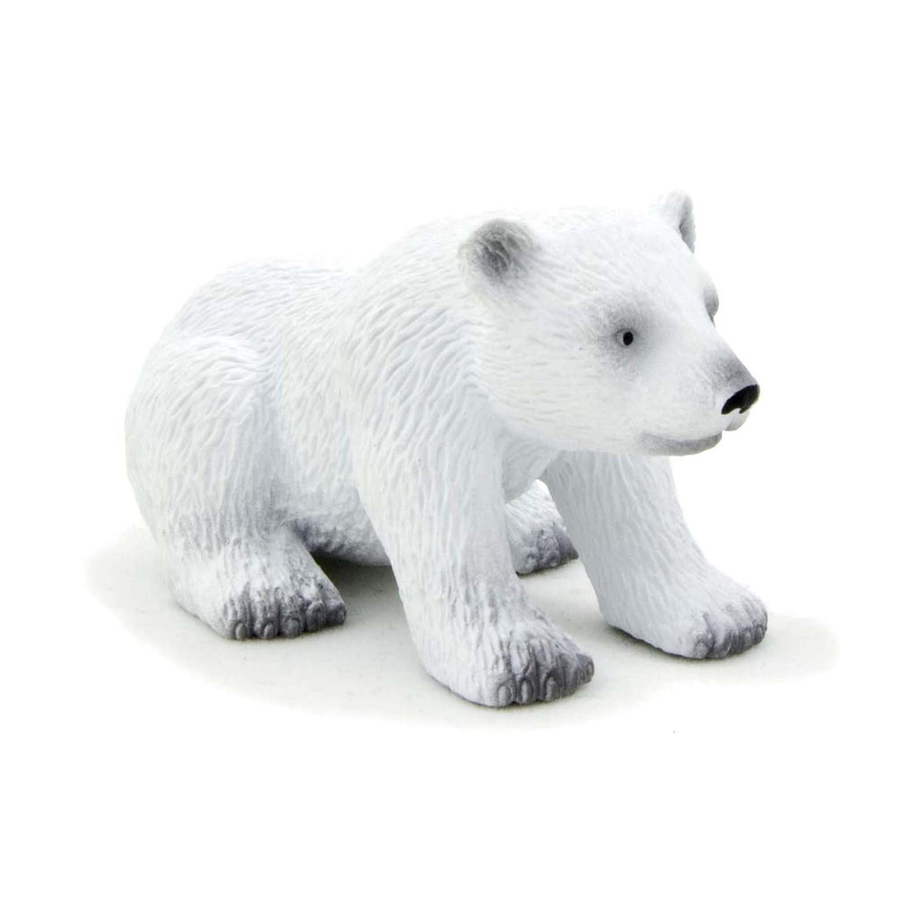 MOJO Polar Bear Cub Sitting Animal Figure 387021