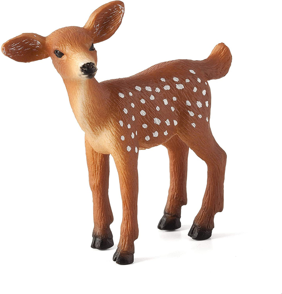 MOJO White Tailed Deer Fawn Animal Figure 387036