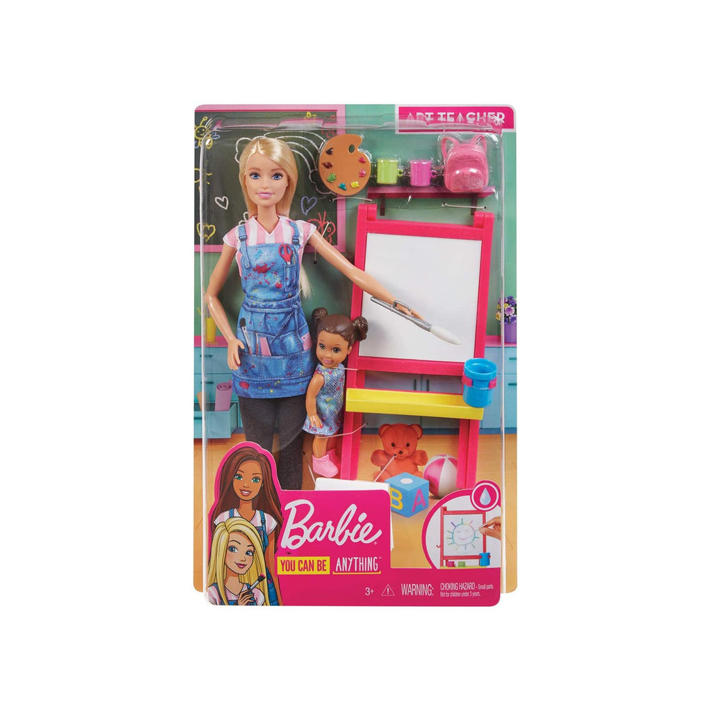 Barbie Careers You Can Be Anything Art Teacher Doll Set
