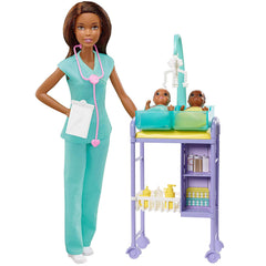 Dolls - Barbie Careers You Can Be Anything Baby Doctor Doll Set A