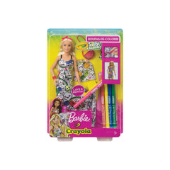Dolls - Barbie Crayola Color In Fashions Silly Scents Doll