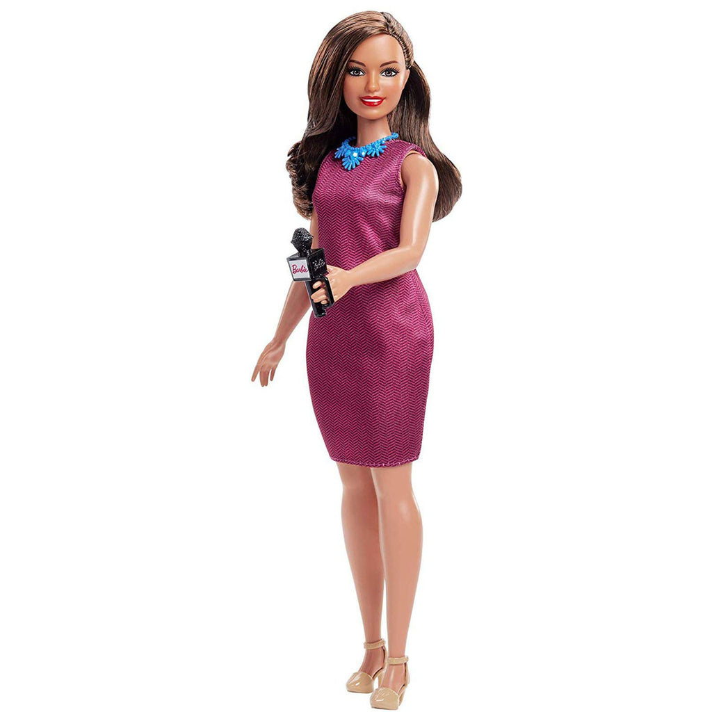 Barbie You Can Be Anything News Anchor Doll