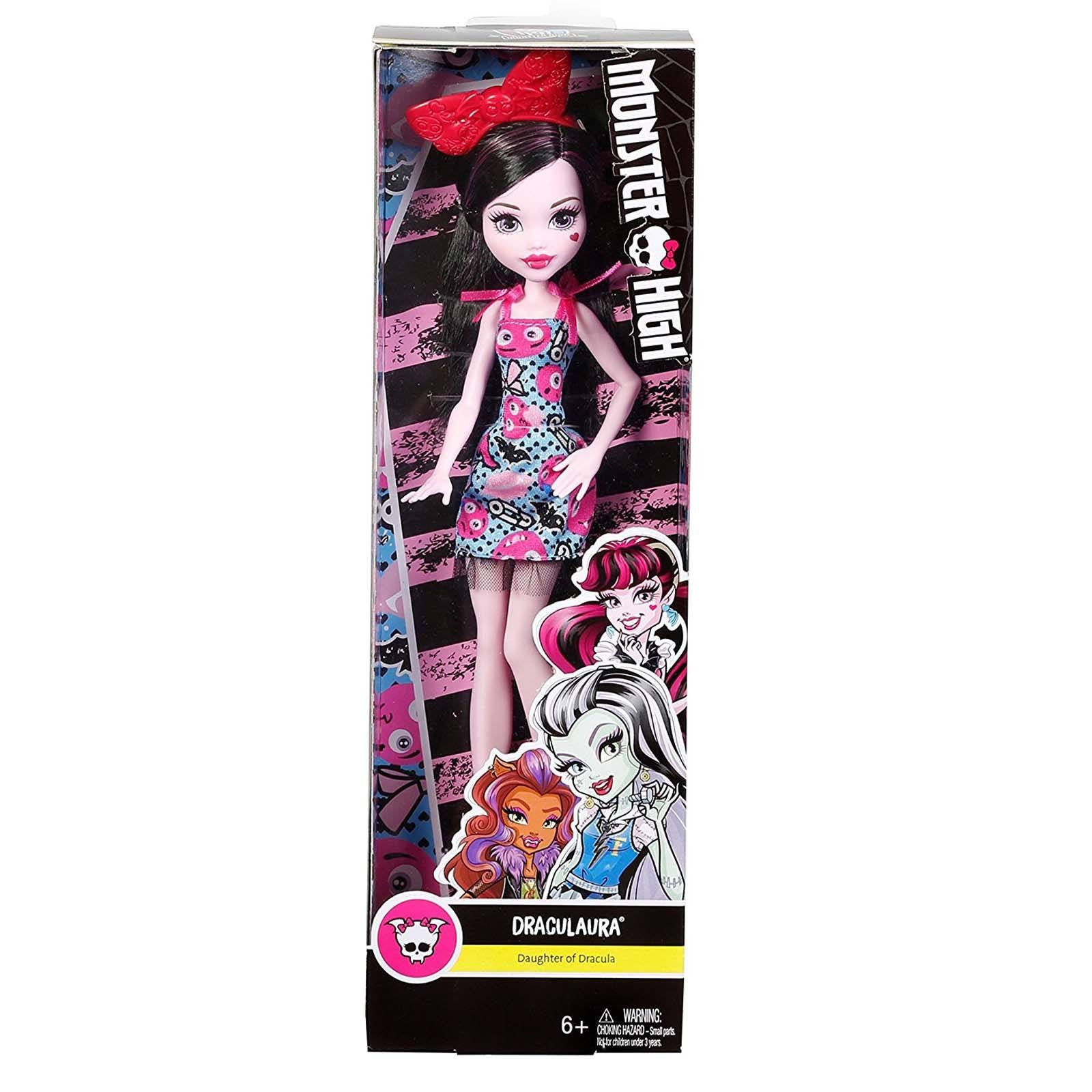 Uncategorized Monster High Draculaura draculaura doll monster high dolls 12 inch mattel radar toys doll