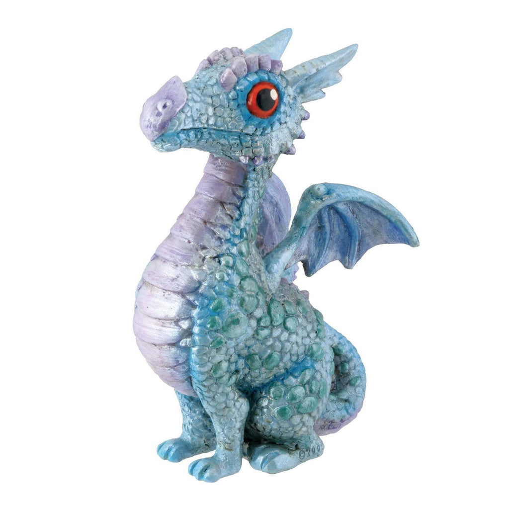 Blue Baby Dragon Summit Collection Resin Figure