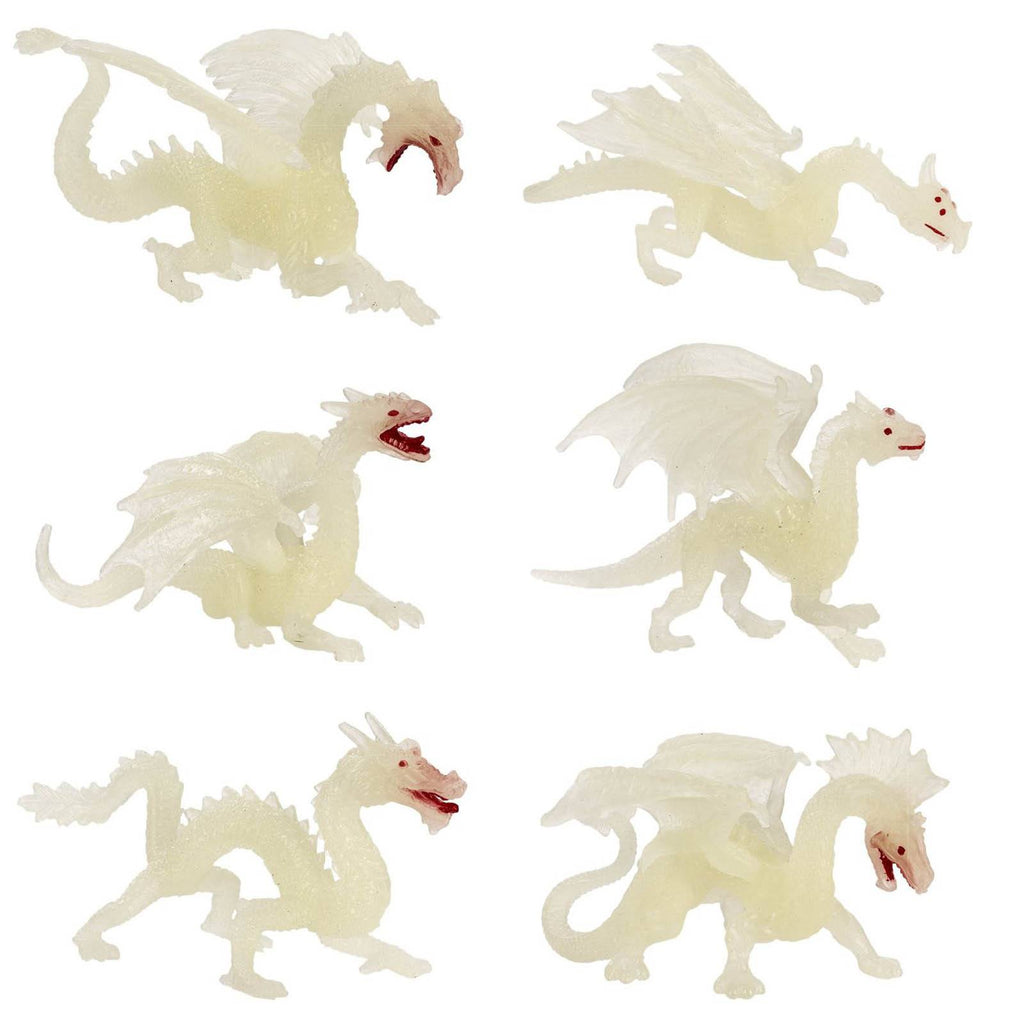 Dragons Glow In The Dark Toob Mini Figures Safari Ltd