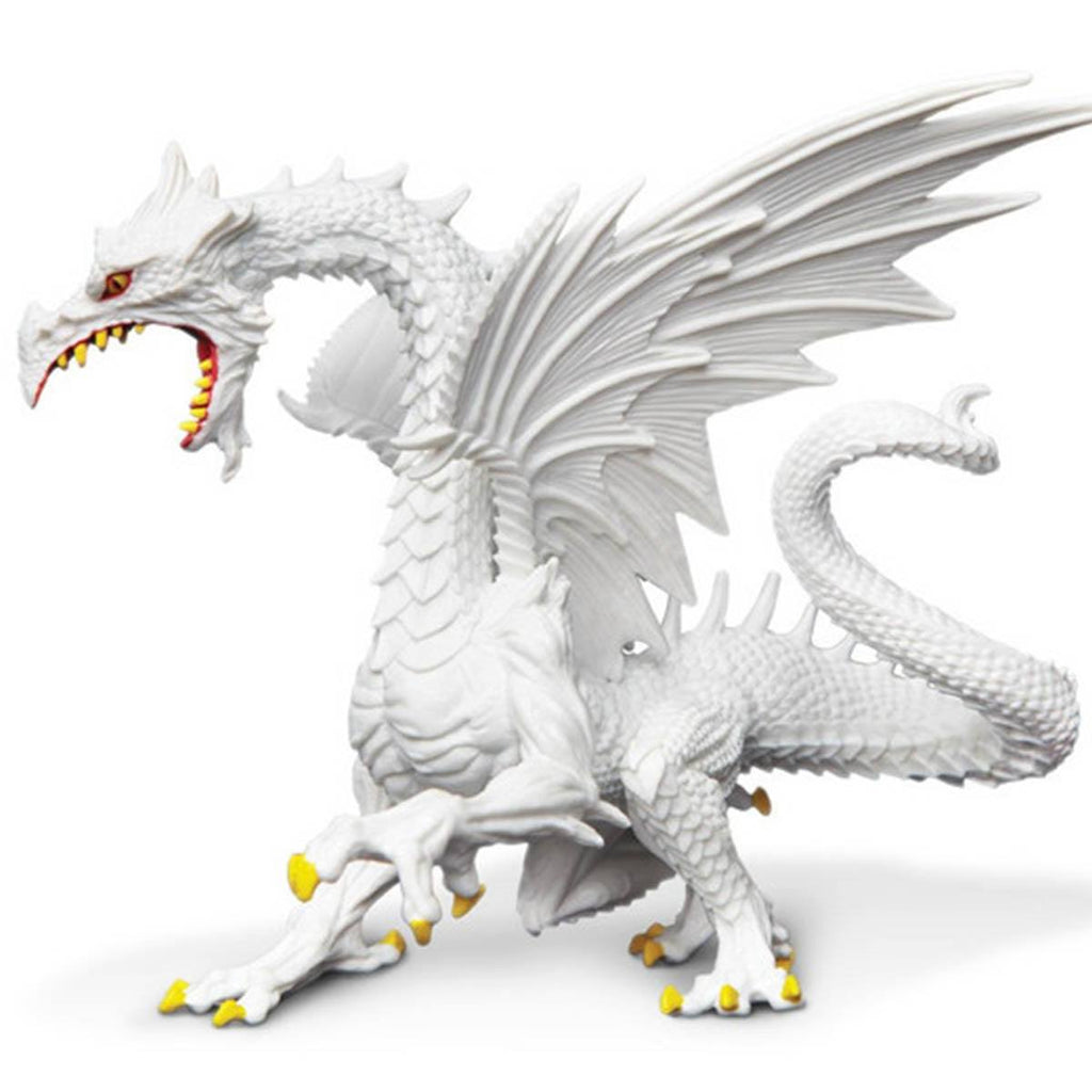 Glow-In-The-Dark Snow Dragon Fantasy Safari Ltd - Radar Toys