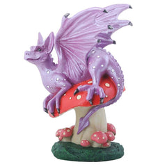 Mushroom Dragon Summit Collection Resin Figure - Radar Toys