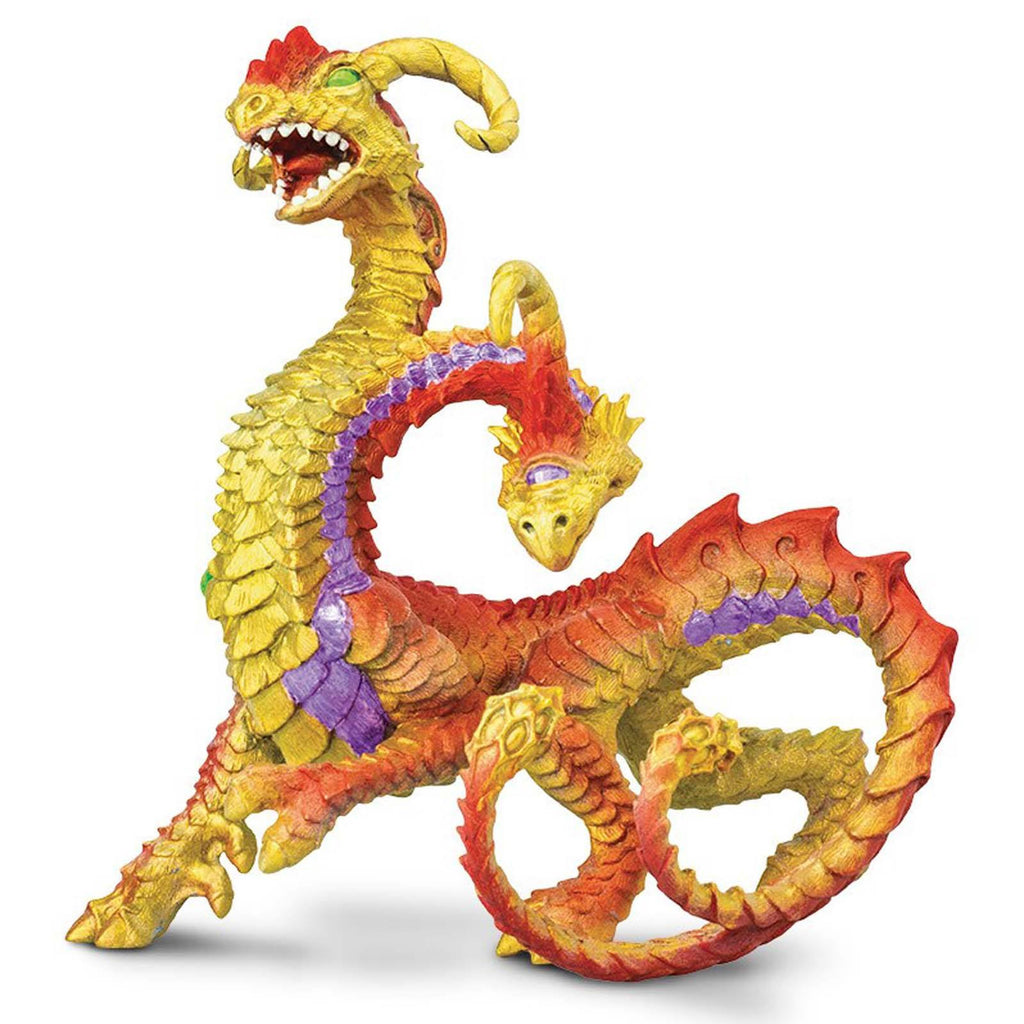 Dragon Figures - Two Headed Dragon Fantasy Figure Safari Ltd