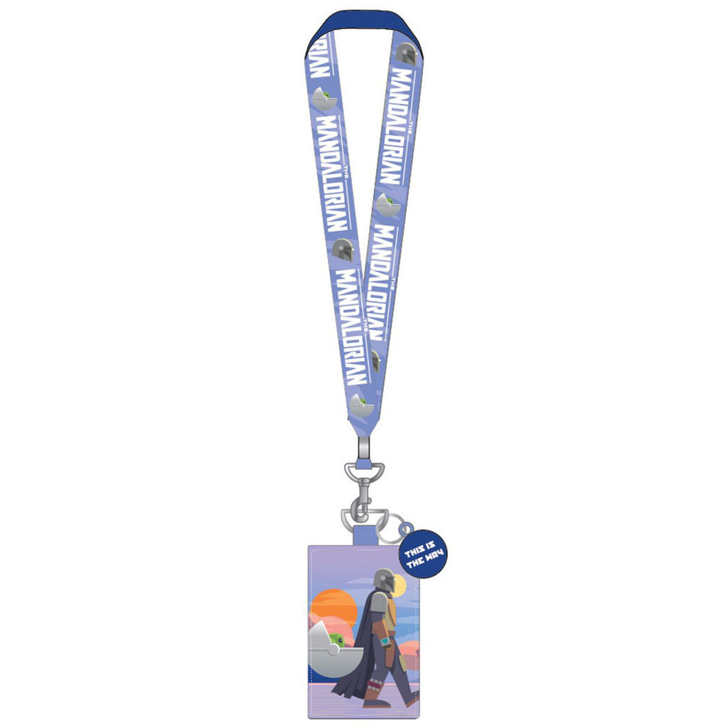 Loungefly Star Wars Mandalorian This Is The Way Lanyard