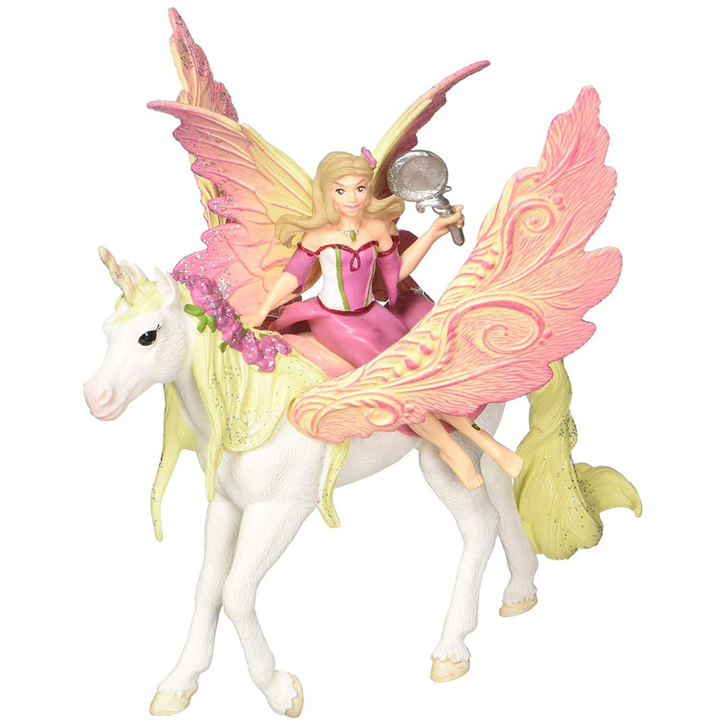Schleich Fairy Feya With Pegasus Unicorn Bayala Fantasy Figure 70568