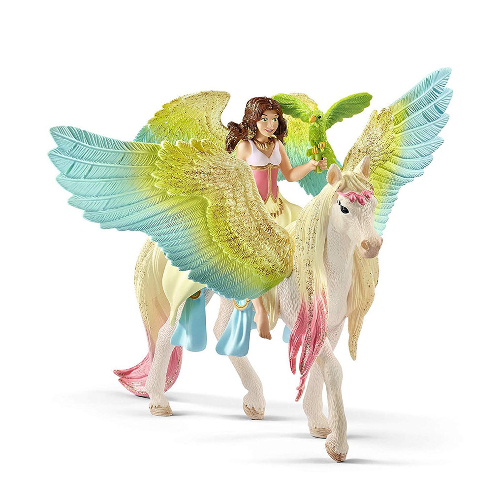Schleich Fairy Surah With Blossom Unicorn Bayala Fantasy Figure 70566