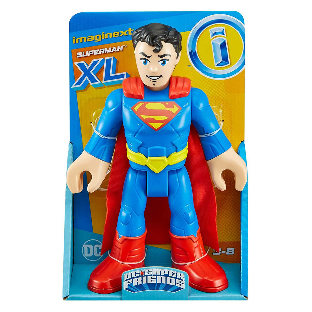 Fisher Price Imaginext DC Super Friends Superman Large Figure