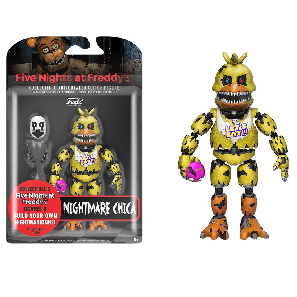 Funko Five Nights At Freddy's Nightmare Chica Action Figure