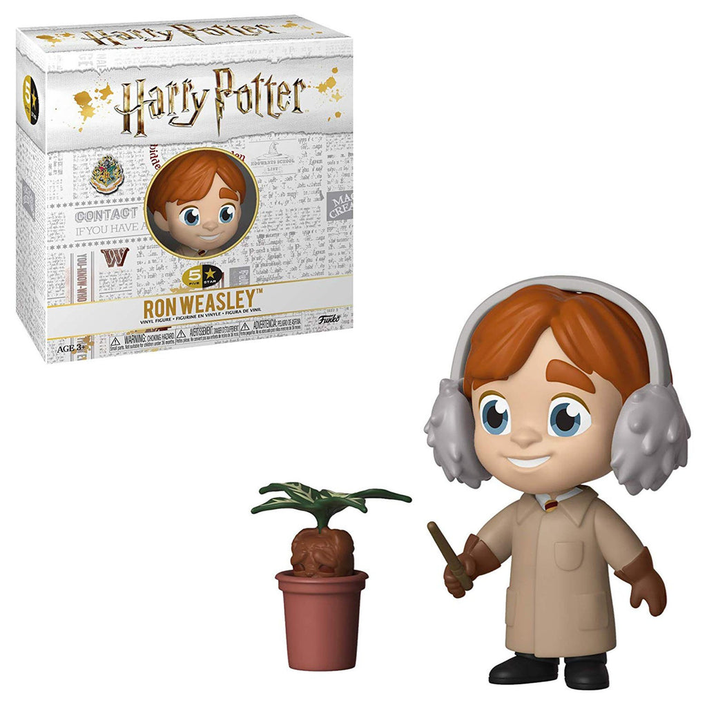 Funko Harry Potter 5 Star Ron Weasley Herbology Vinyl Figure