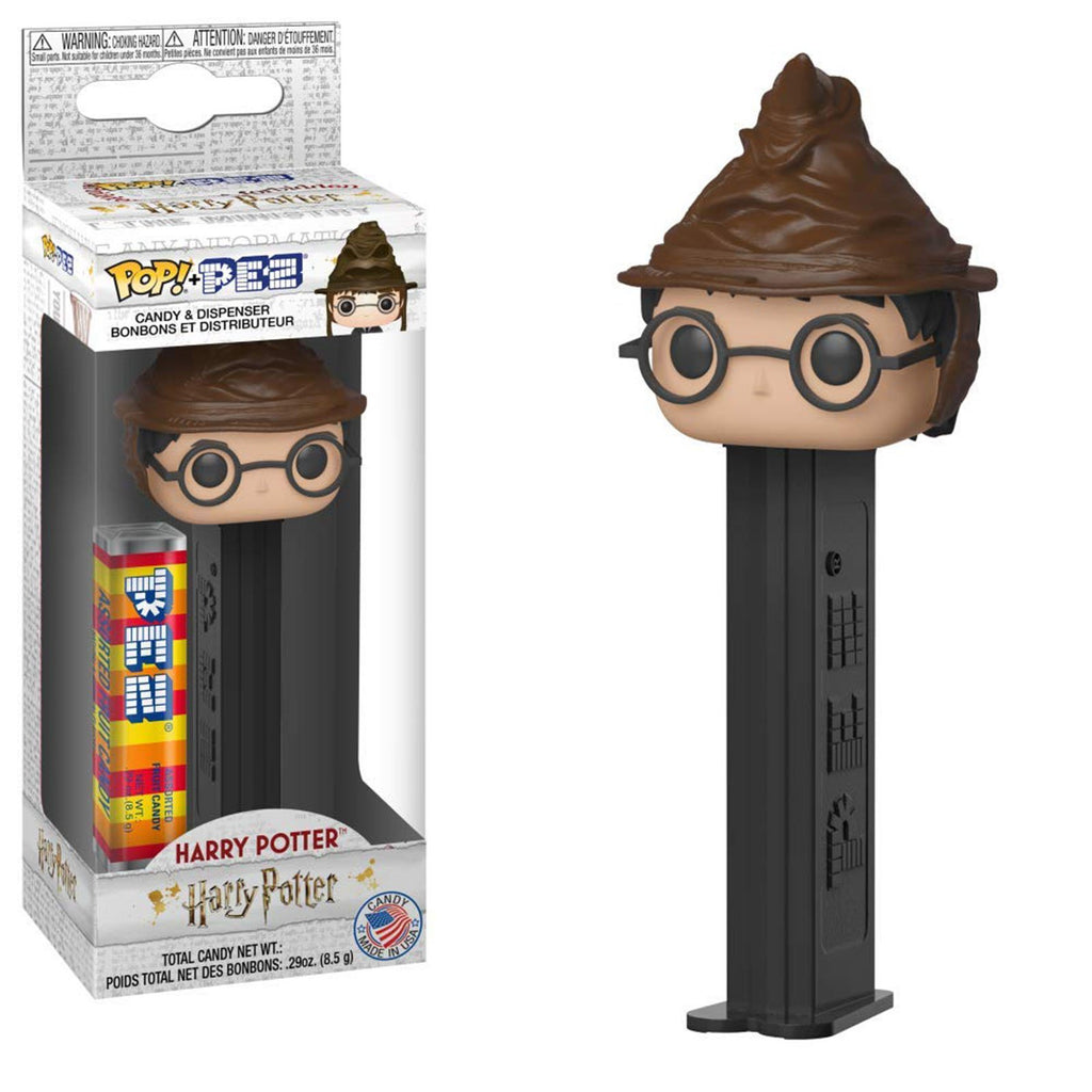 Funko Harry Potter POP PEZ Harry Potter Sorting Hat Dispenser