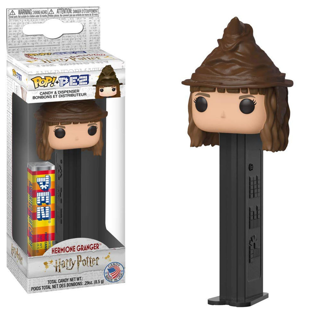 Funko Harry Potter POP PEZ Hermione Granger Sorting Hat Dispenser
