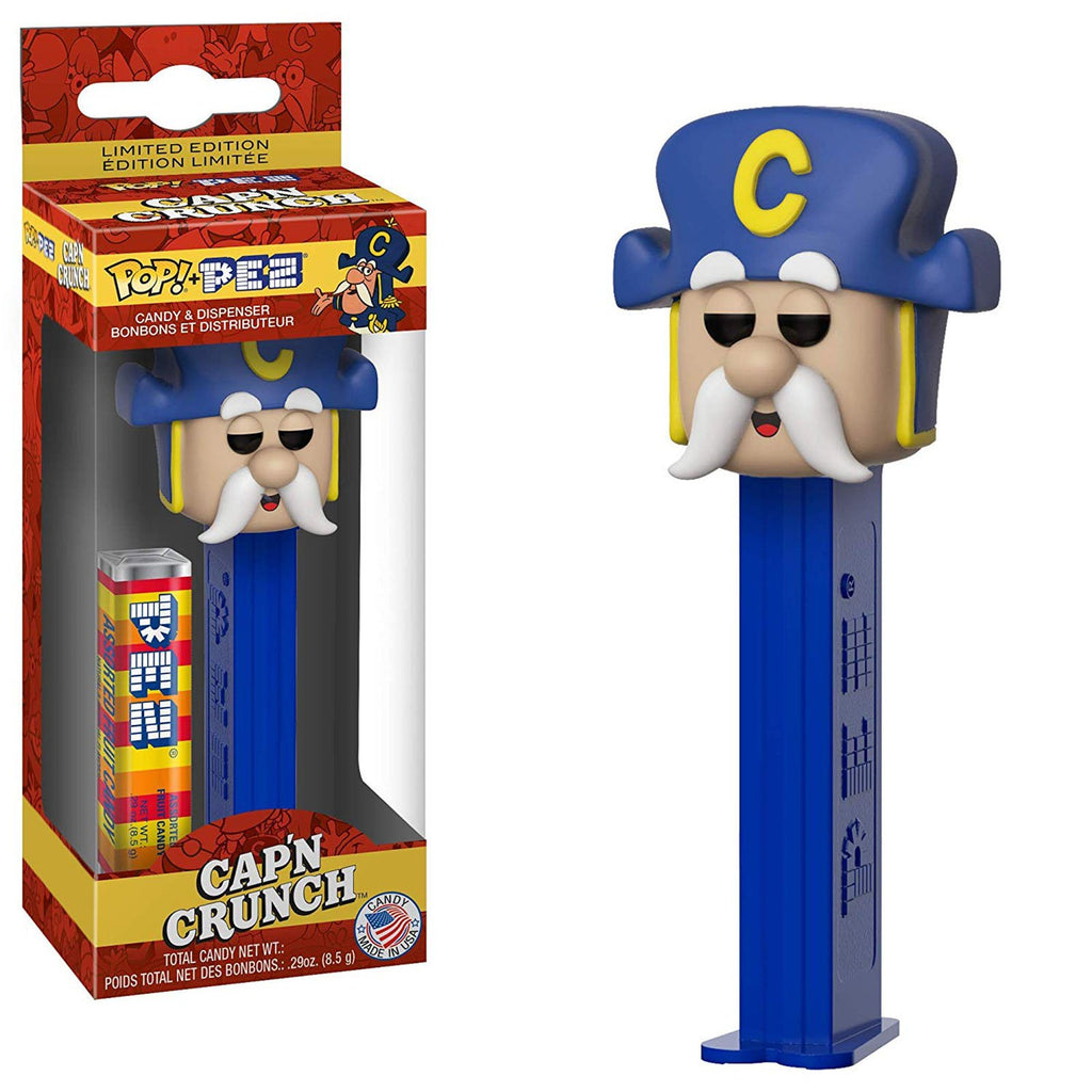 Funko Quacker Oats POP PEZ Cap'n Crunch Dispenser