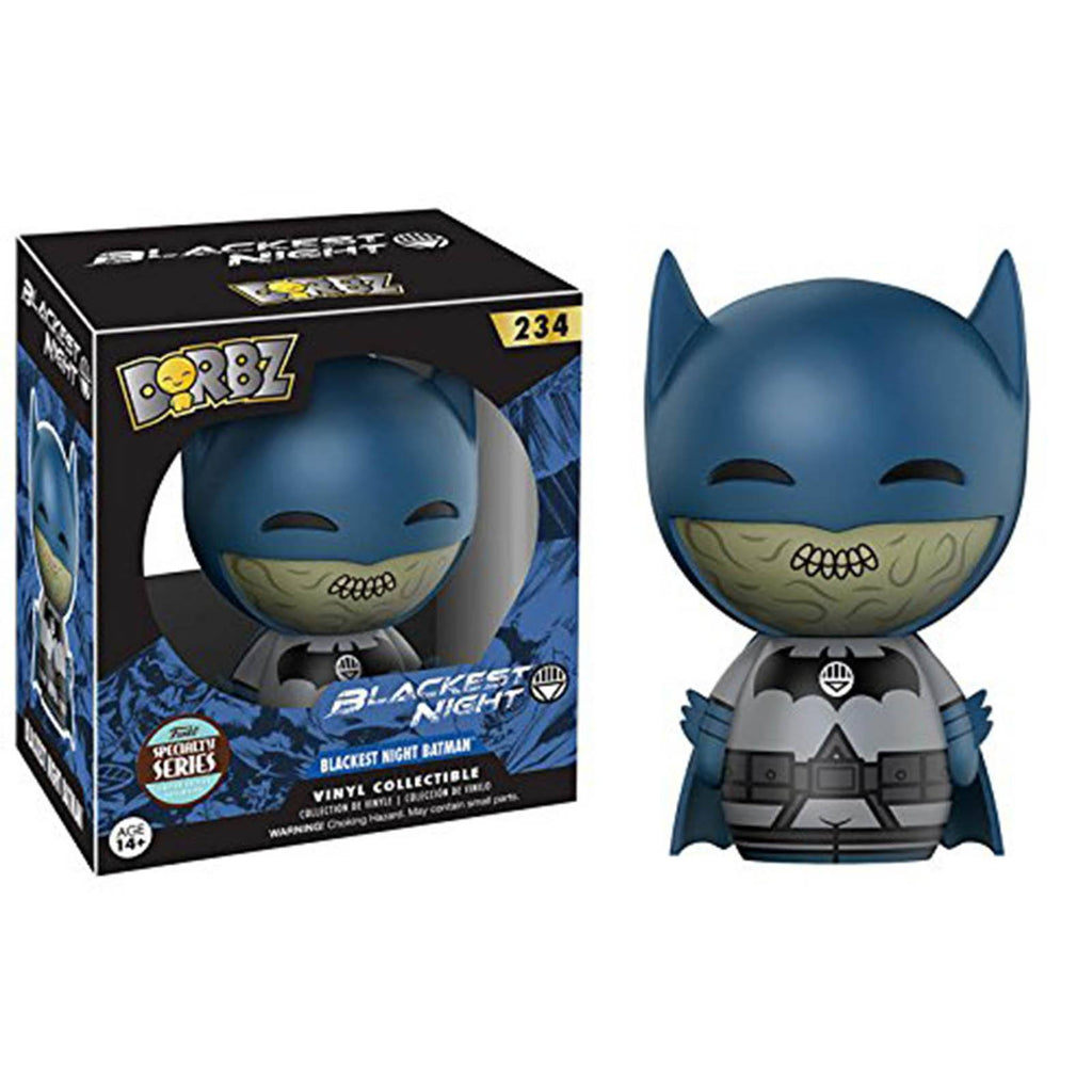 Funko Blackest Night Specialty Series Dorbz Batman Vinyl Figure - Radar Toys