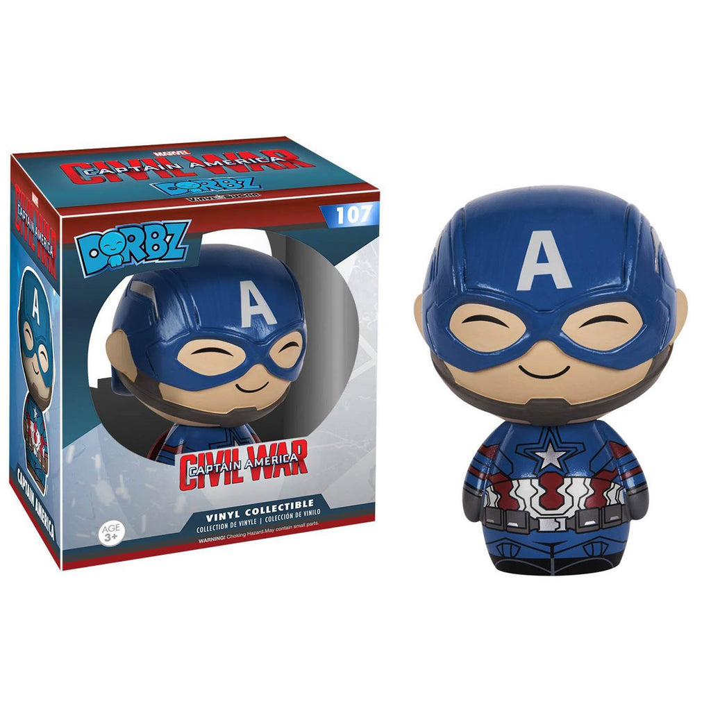 Funko Civil War Dorbz Captain America Vinyl Figure