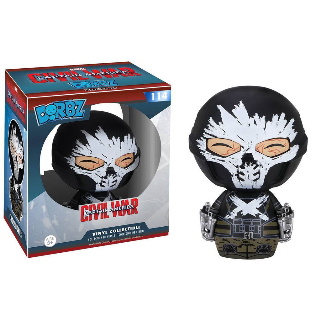 Funko Civil War Dorbz Crossbones Vinyl Figure - Radar Toys