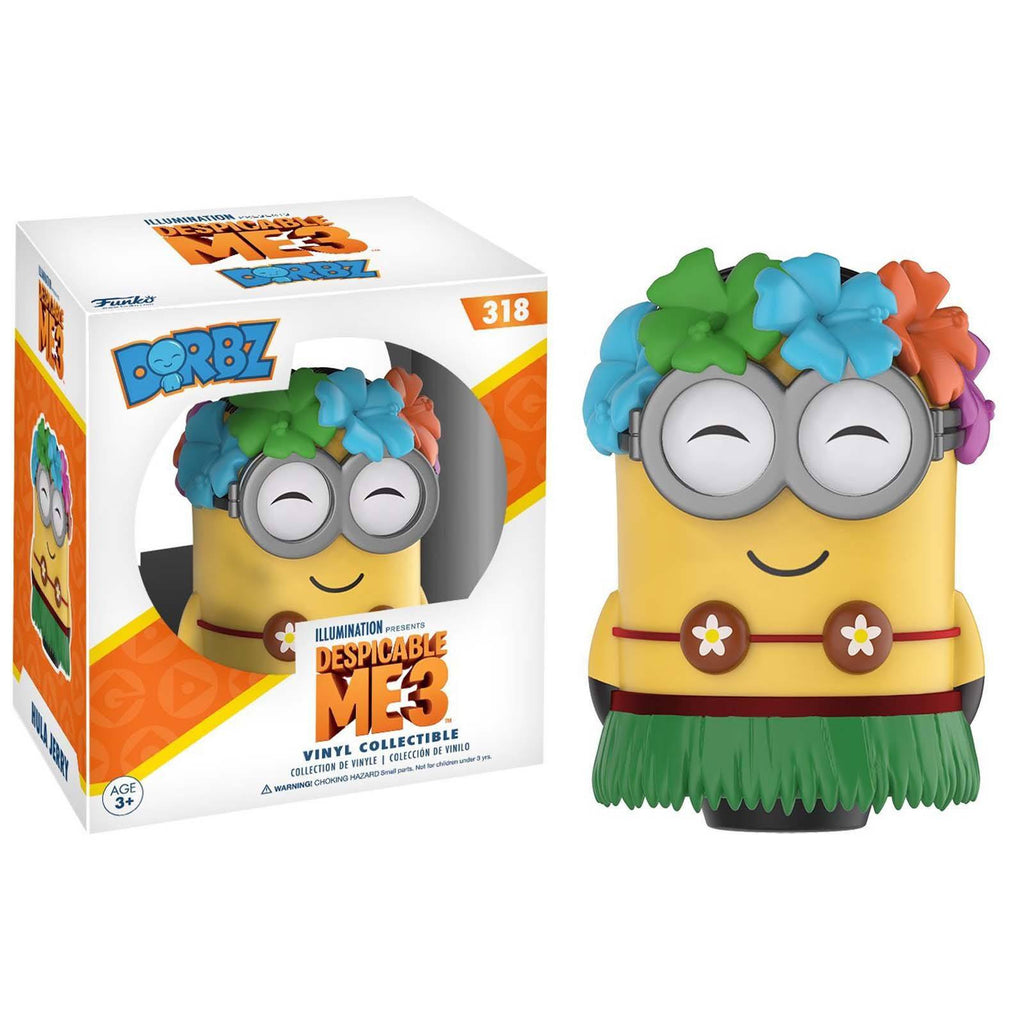 Funko Despicable Me 3 Dorbz Hula Jerry Vinyl Figure