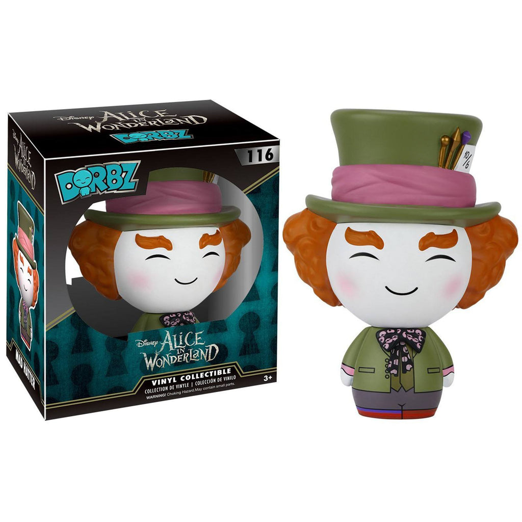 Funko Disney Alice In Wonderland Dorbz Mad Hatter Live Action Vinyl Figure - Radar Toys