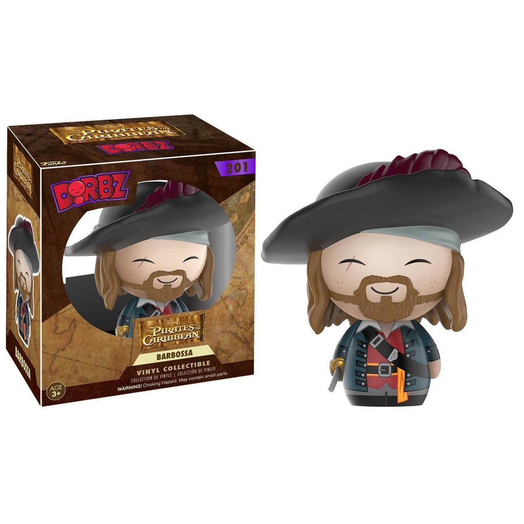 Funko Disney Pirates Of The Caribbean Dorbz Barbossa Vinyl Figure