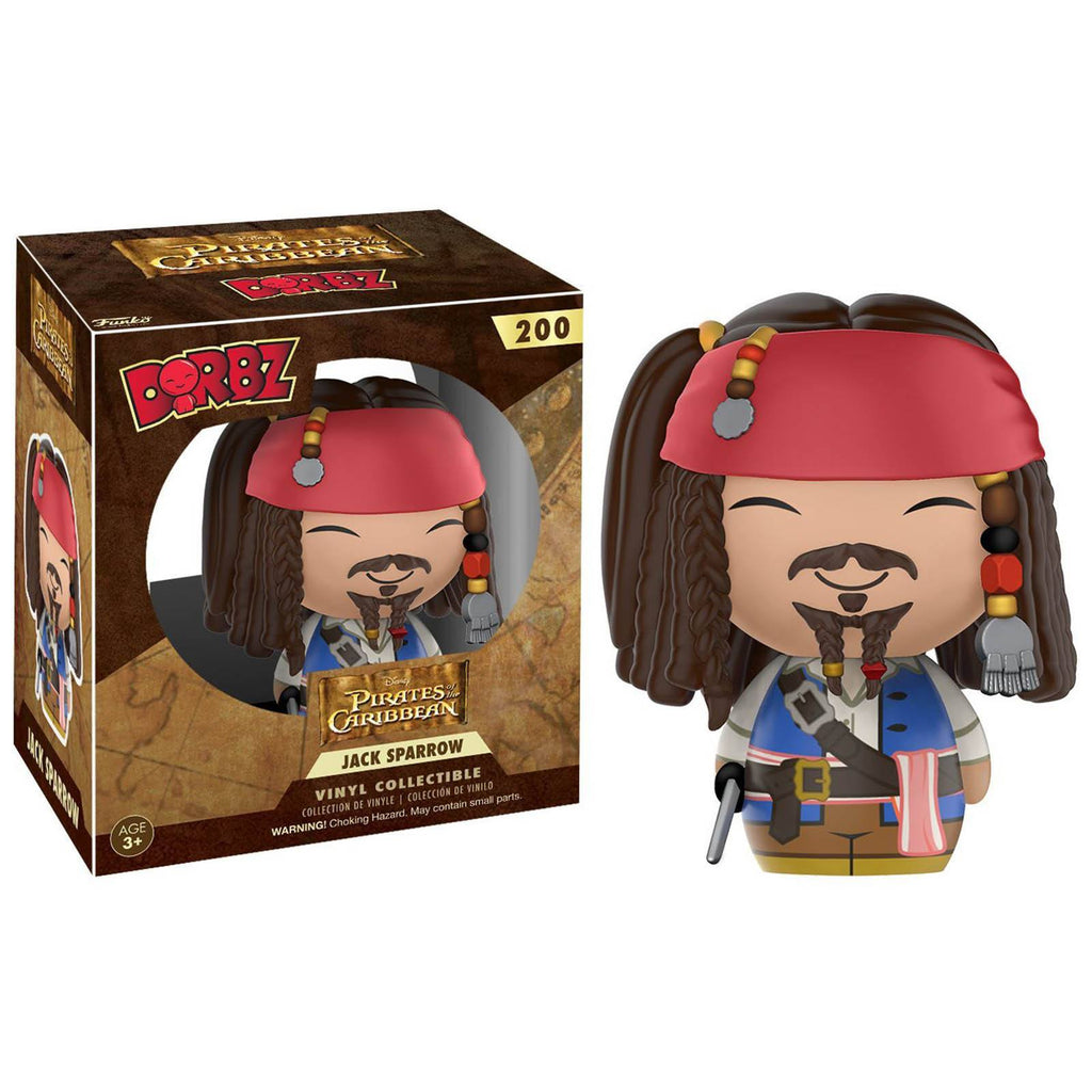 Funko Disney Pirates Of The Caribbean Dorbz Captain Jack Sparrow Vinyl Figure