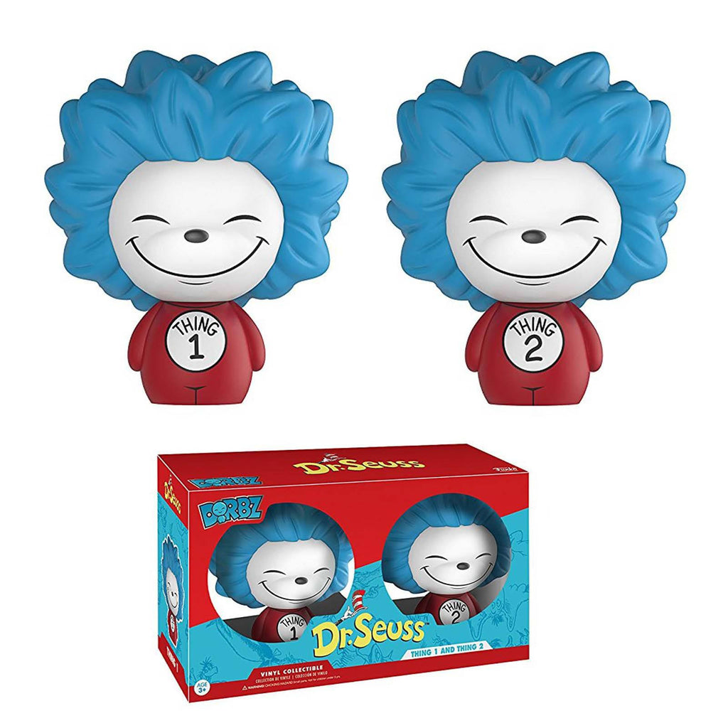 Funko Dr. Seuss Dorbz Thing 1 And Thing 2 Vinyl Figures