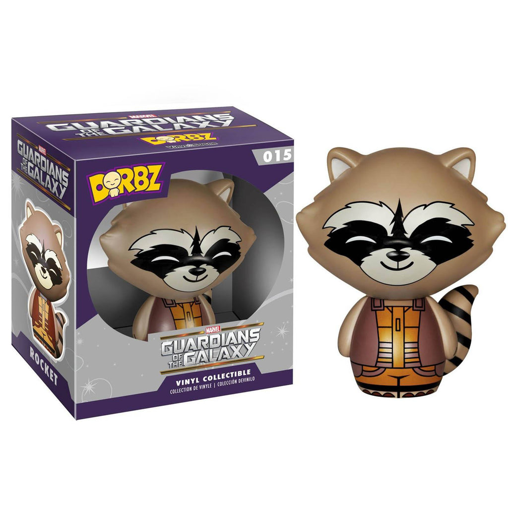 Funko Guardians Of The Galaxy Dorbz Rocket Raccoon Vinyl Figure - Radar Toys