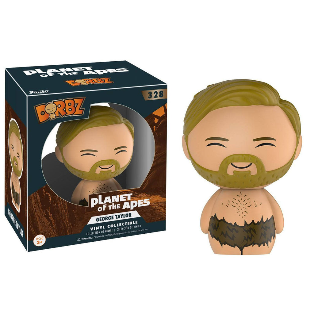 Funko Planet Of The Apes Dorbz George Taylor Vinyl Figure