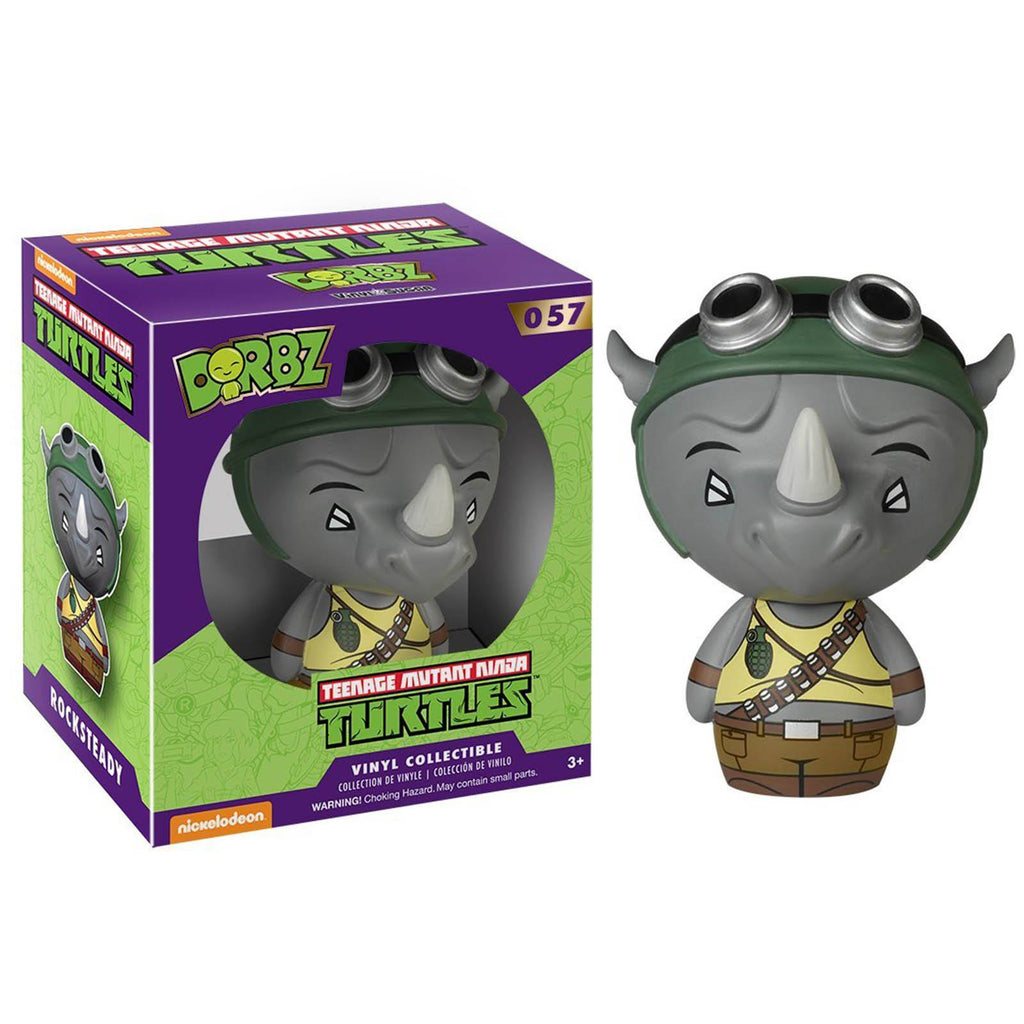 Funko Teenage Mutant Ninja Turtles Dorbz Rocksteady Vinyl Figure