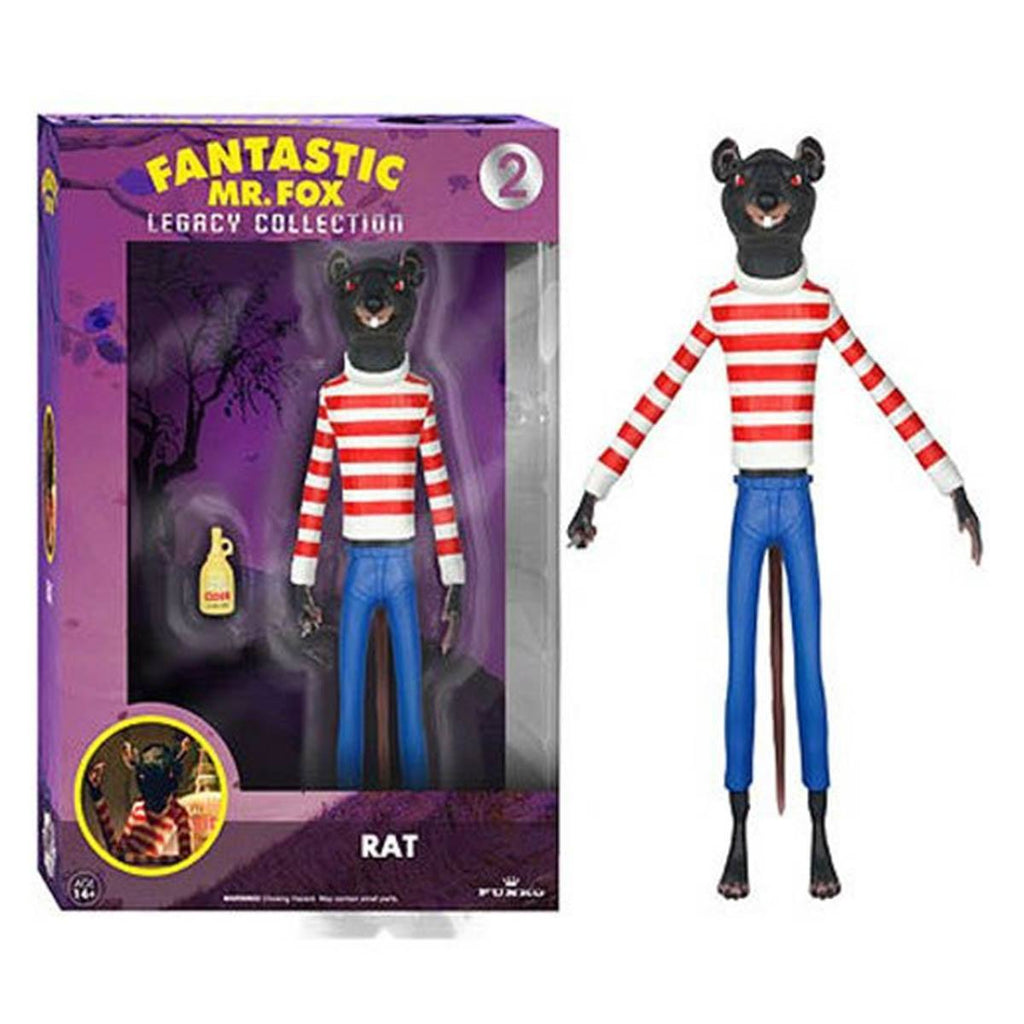 Fantastic Mr. Fox Legacy Collection Rat Action Figure - Radar Toys