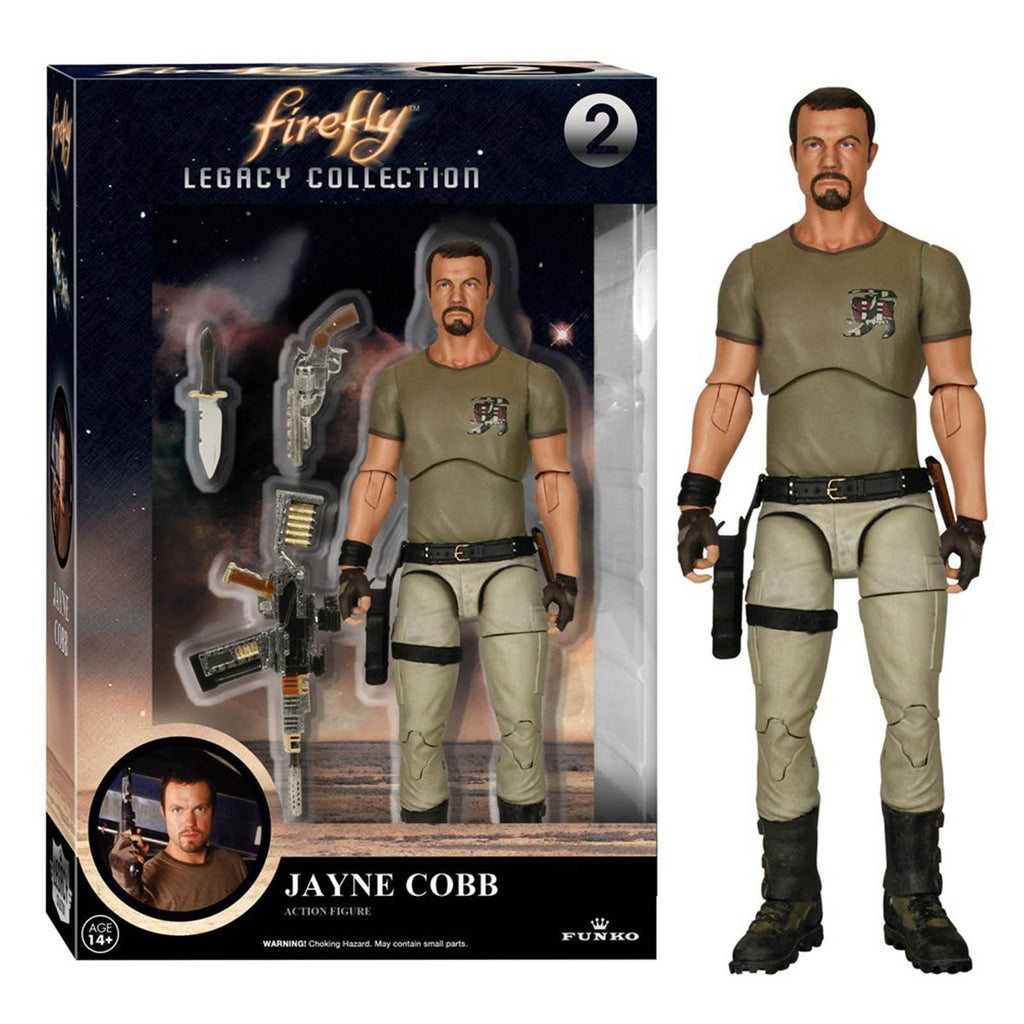 Funko Firefly Legacy Collection Jayne Cobb Action Figure