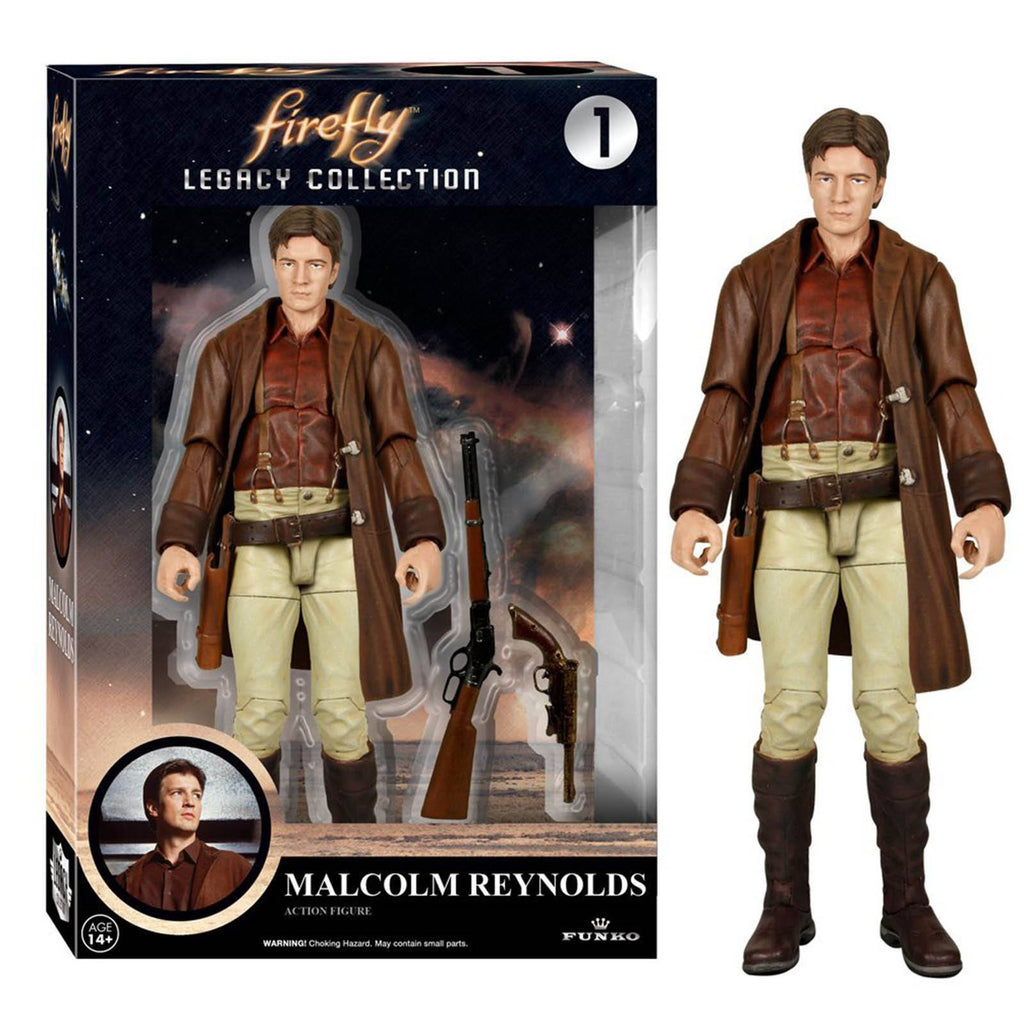 Funko Firefly Legacy Collection Malcolm Reynolds Action Figure