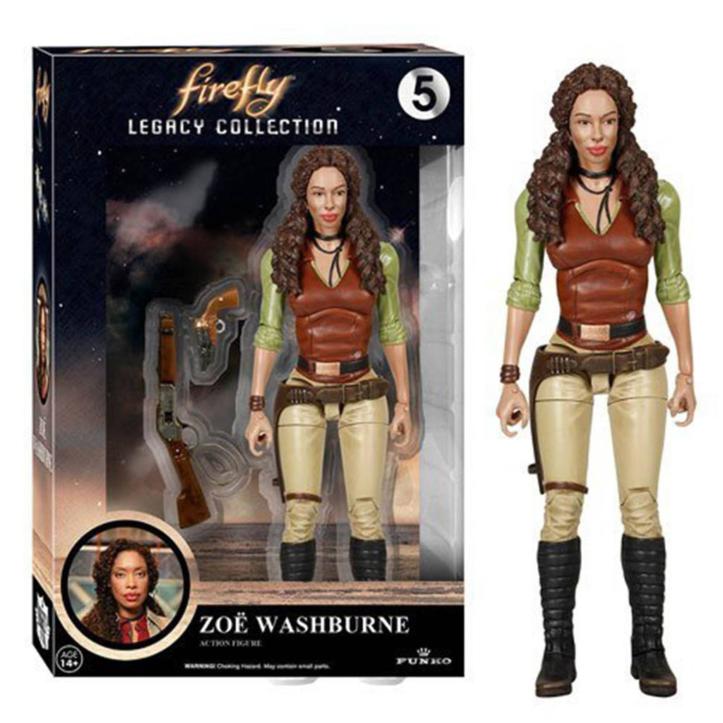 Funko Firefly Legacy Collection Zoe Washburne Action Figure - Radar Toys