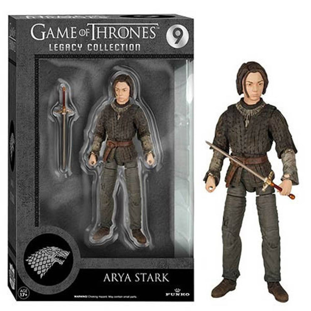Game Of Thrones Legacy Collection Arya Stark Action Figure - Radar Toys