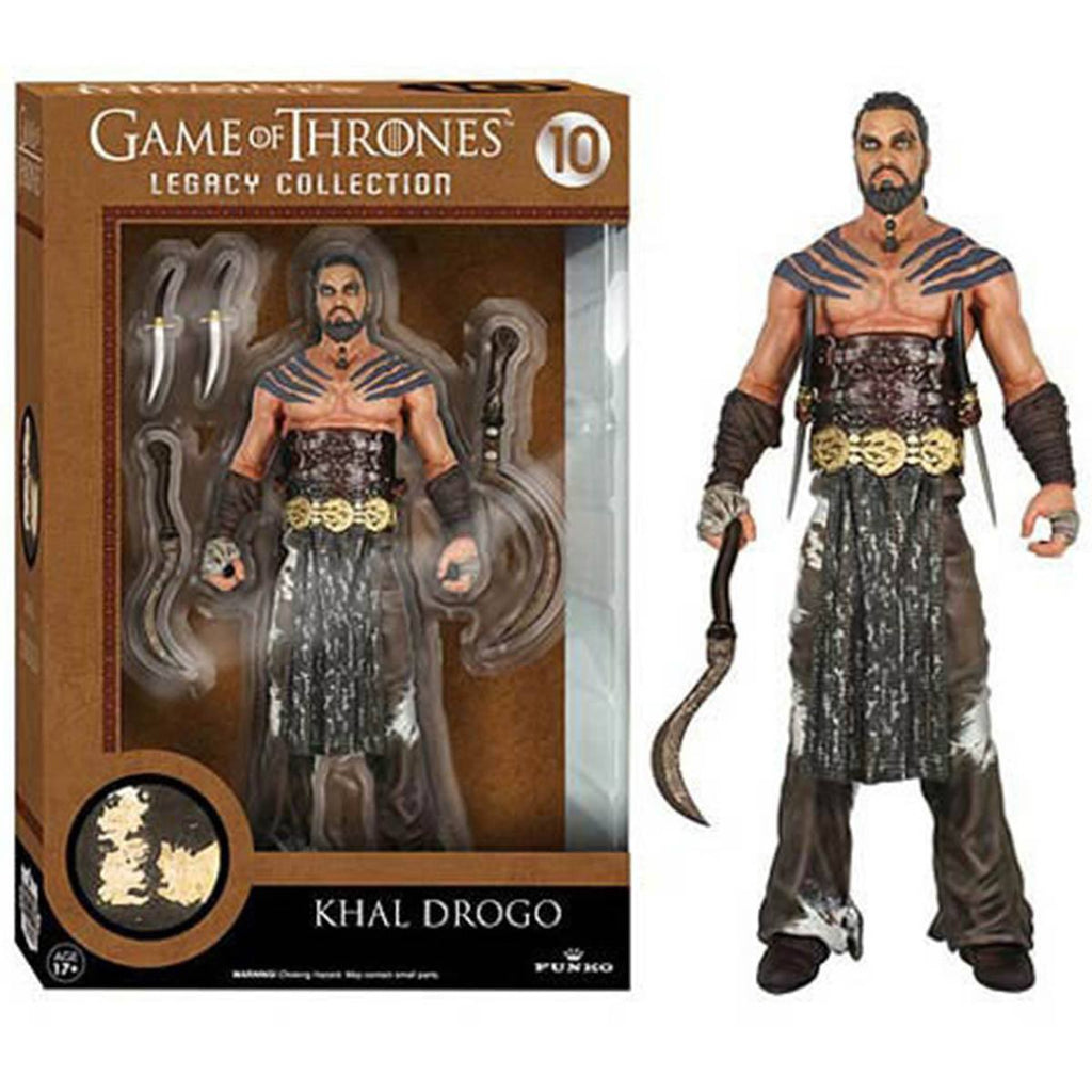 Game Of Thrones Legacy Collection Khal Drogo Action Figure