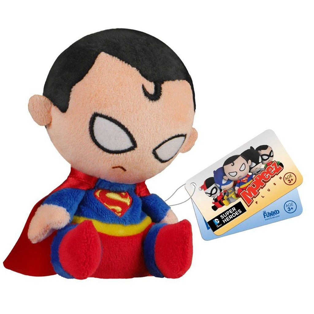DC Comics Mopeez Superman Plush Figure - Radar Toys