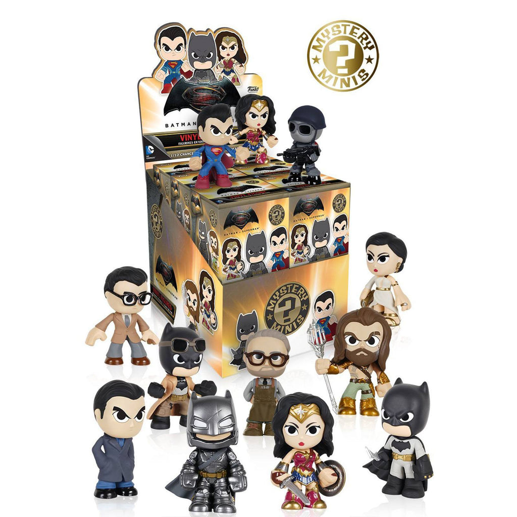 Funko Batman Vs Superman Mystery Minis Vinyl Figure - Radar Toys