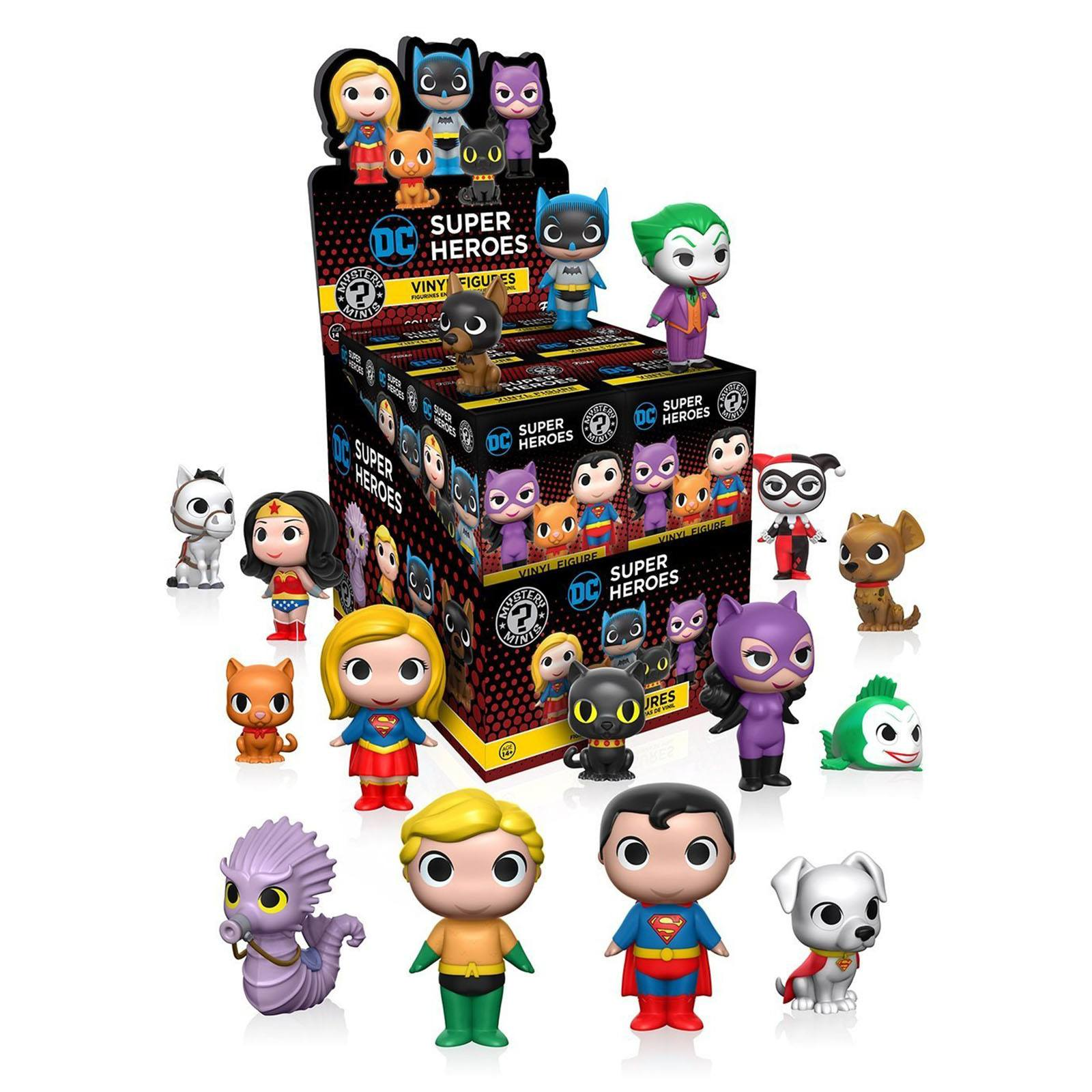 Funko Dc Heroes And Pets Series 1 Mystery Minis Figure