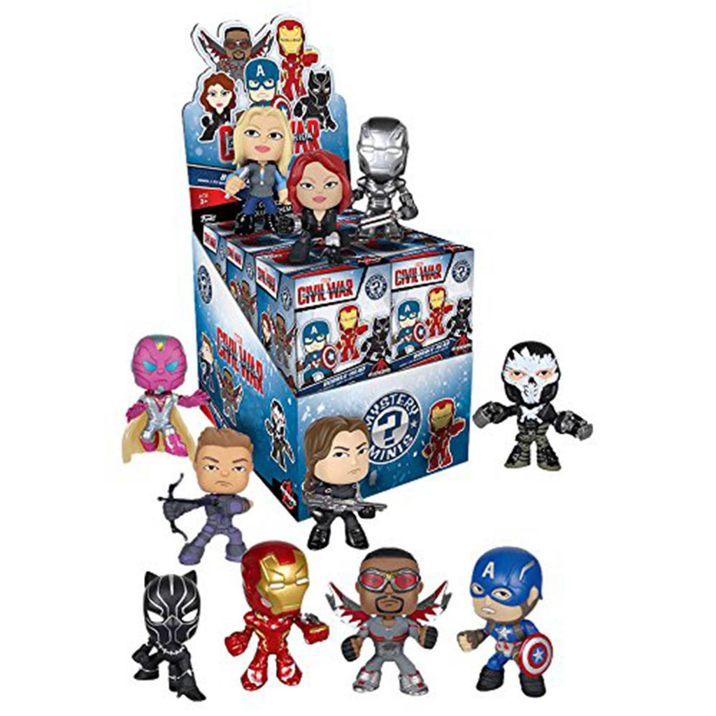Funko Marvel Civil War Mystery Minis Vinyl Figure - Radar Toys