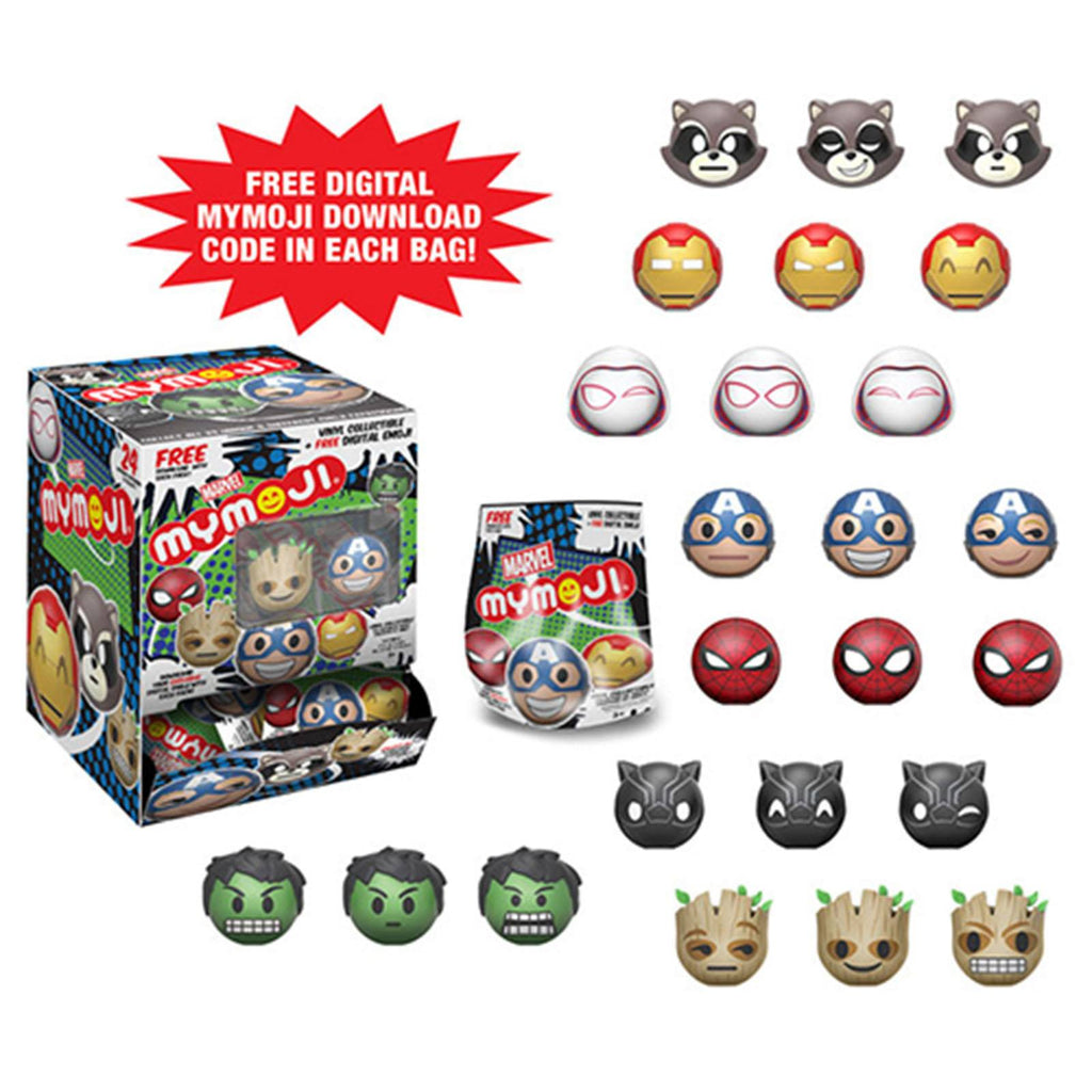 Funko Marvel Series 1 Mymoji Blind Bag Minifigure