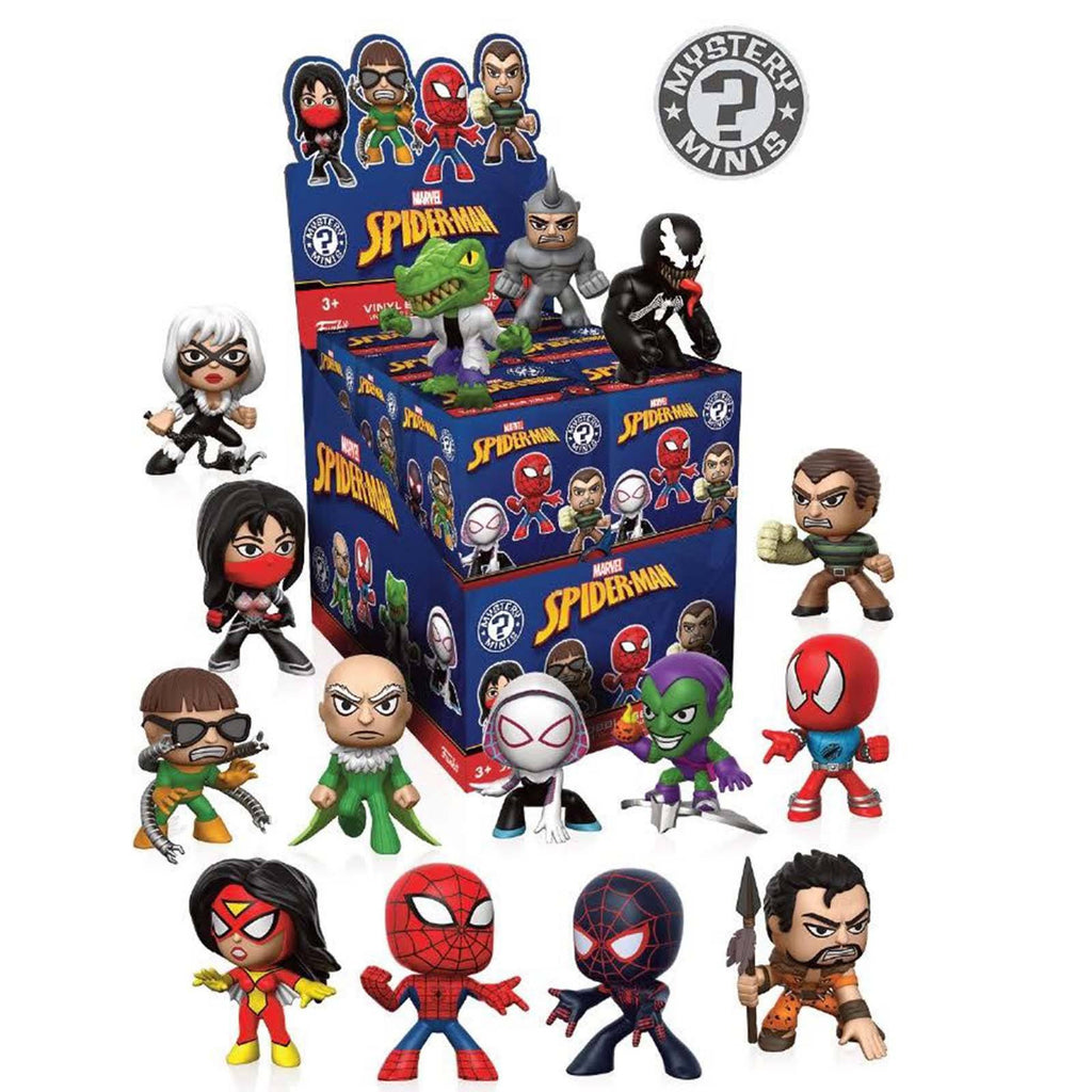 Funko Marvel Spider-Man Classic Mystery Minis Blind Box Figure