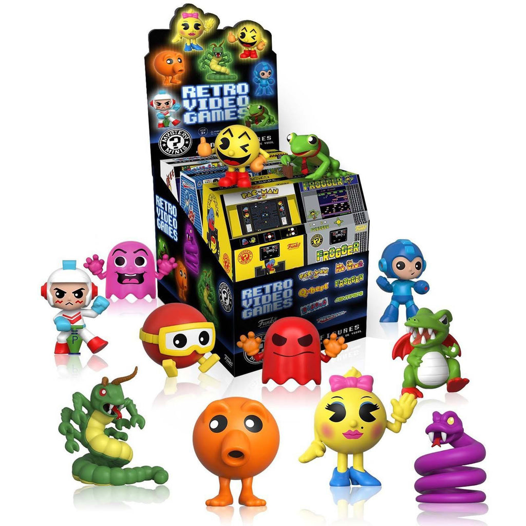 Funko Retro Games Series 1 Mystery Mini Vinyl Figure